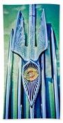1934 Chrysler Airflow Hood Ornament 2 Hand Towel