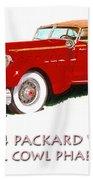 1934 Packard V-12 Dual Cowl Phaeton Bath Towel