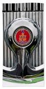 1935 Pierce-arrow 845 Coupe Emblem Hand Towel