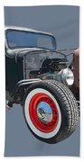 1936 Rat Rod Chevy Pickup Bath Towel
