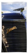 1937 Ford Model 78 Cabriolet Convertible By Darrin Bath Towel