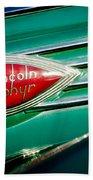 1938 Lincoln Zephyr Emblem Hand Towel