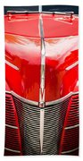 1940 Ford Deluxe Coupe Grille Bath Towel