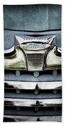1947 Ford Deluxe Grille Emblem Bath Towel