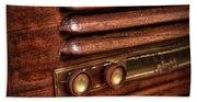 1948 Mantola Radio Bath Towel