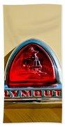 1948 Plymouth Deluxe Emblem Bath Towel