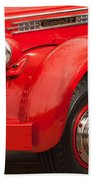 1949 Diamond T Truck Front End Hand Towel