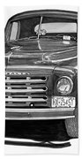 1949 Studebaker Pick Up Truck Bath Towel