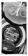 1949 Volkswagen Vw Hebmuller Cabriolet Tool Kit -0278bw Bath Towel