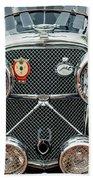 1950 Jaguar Xk120 Roadster Grille Bath Towel