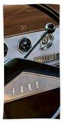 1951 Ford Crestliner Steering Wheel Hand Towel