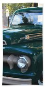 1952  Ford Pick Up Truck Front And Side View Bath Towel
