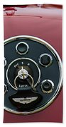 1953 Aston Martin Db2-4 Bertone Roadster Instrument Panel Bath Towel