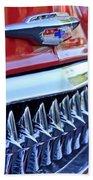 1953 Chevrolet Grille Emblem Bath Towel