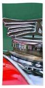 1953 Morgan Plus 4 Le Mans Tt Special Hood Ornament Hand Towel