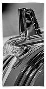 1953 Pontiac Hood Ornament 4 Bath Towel