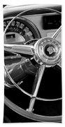 1953 Pontiac Steering Wheel 2 Hand Towel
