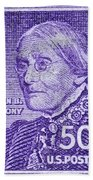 1954-1961 Susan B. Anthony Stamp Bath Towel