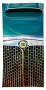 1955 Lancia Aurelia B24 Spyder America Roadster Grille -0278c Bath Towel