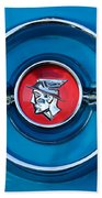 1955 Mercury Monterey  Emblem Bath Towel