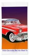 1956 Chevrolet Bel Air Ht Bath Towel