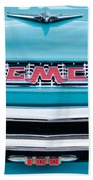 1956 Gmc 100 Deluxe Edition Pickup Truck Bath Towel