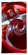 1957 Chevrolet Bel Air Steering Wheel Bath Towel
