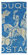 1958 Battle Of Fort Duquesne Stamp Bath Towel