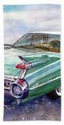 1959 Cadillac Cruising Bath Towel