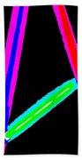 1960s Neon Hand Towel