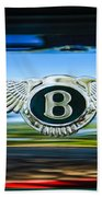 1961 Bentley S2 Continental - Flying Spur - Emblem Bath Towel