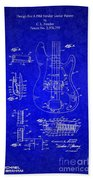 1961 Fender Guitar Bath Towel