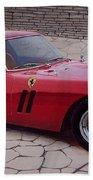 1962 Ferrari 250 Gto Bath Towel