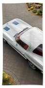 1963 Chevrolet Corvette Split Window -440c Bath Towel