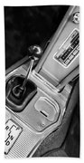 1963 Chevrolet Corvette Split Window Dash -155bw Bath Towel