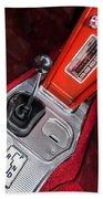 1963 Chevrolet Corvette Split Window Dash -155c Bath Towel