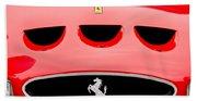 1963 Ferrari 250 Gto Grille Emblem -1753c Bath Towel