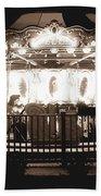 1964 Allan Herschell Carousel Bath Towel