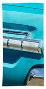 1964 Mercury Comet Taillight Emblem Bath Towel