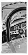 1965 Ac Cobra Steering Wheel Bath Towel