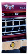 1965 Ford American Lafrance Fire Truck Bath Towel