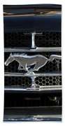 1965 Shelby Prototype Ford Mustang Hood Ornament Bath Towel