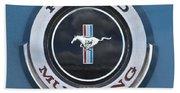 1966 Shelby Gt 350 Emblem Gas Cap Bath Towel