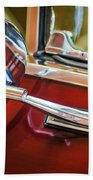 1967 Chevrolet Camaro Ss 350 Rear View Mirror Emblem Bath Towel