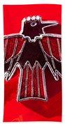 1967 Pontiac Firebird Emblem Bath Towel