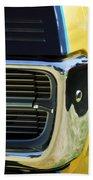 1967 Pontiac Hurst Grand Prix Convertible Grille Emblem -3569c Bath Towel