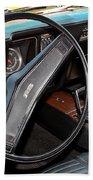 1969 Chevrolet Camaro Rs - Orange - Interior - 7601 Bath Towel