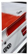 1969 Chevrolet Camaro Ss Indianapolis 500 Pace Car Rear Shot Bath Towel