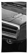 1970 Dodge Charger Bath Towel