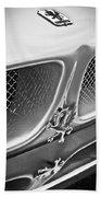 1970 Iso Rivolta Grifo Emblem  -0146bw Bath Towel